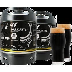 Fûts de bière - Pack 2 fûts 6L Magic Rock Dark Arts + 2 verres Magic Rock Craft Master - 25cl