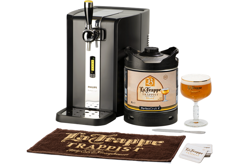 Thuistap - PerfectDraft La Trappe Starter Pack - Machine, Vat en Goodies