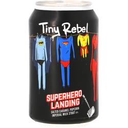 Bottled beer - Tiny Rebel / Brewdog - Super Hero Landing