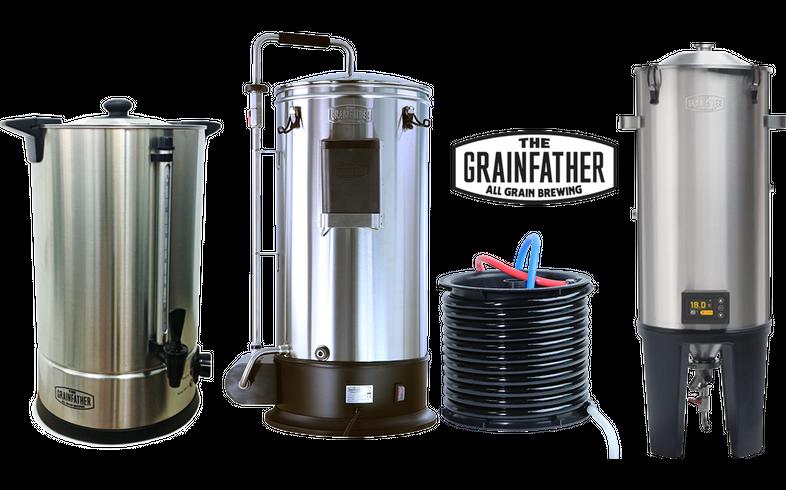 Brassage - Pack Grainfather Trio Brassage & Fermentation - Sparge Water 18L + Grainfather Connect G30 + Fermenter Conical Pro Edition
