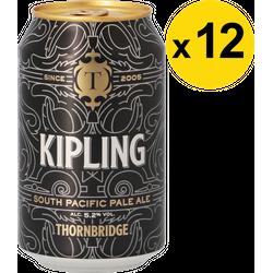 Pack de bières - Pack Thornbridge Kipling - 12 bières