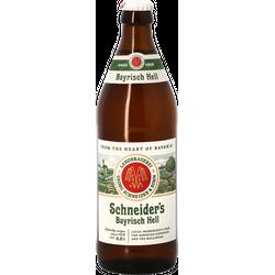 Bottled beer - Schneider's Bayrisch Hell