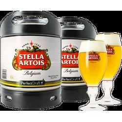 Tapvaten - PerfectDraft Stella Artois 2-Pack + 2 Glazen - 10 EUR Statiegeld