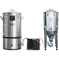 Cuves de brassage - Pack Duo Brassage & Fermentation -  Grainfather G70 + Chronical Brewmaster Fermenter 53 litres (14 gallons)