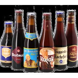Bierpakketten - Donker & Sterk - Belgisch Bier Pakket (24 bieren) - MegaPack