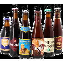 Samlingar - Mega Pack Bière Belge Foncée - 24 bières