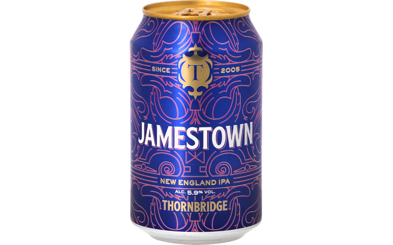 Megapacks - Thornbridge Jamestown 33cl (12 stuks)