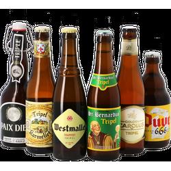assortiments - Mega Pack Bière Belge Blonde - 24 bières