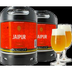 Fusti - Fusto Thornbridge Jaipur PerfectDraft 6L + 2 bicchieri - 2-Pack