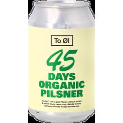 Bottled beer - To Øl - 45 Days Organic Pilsner