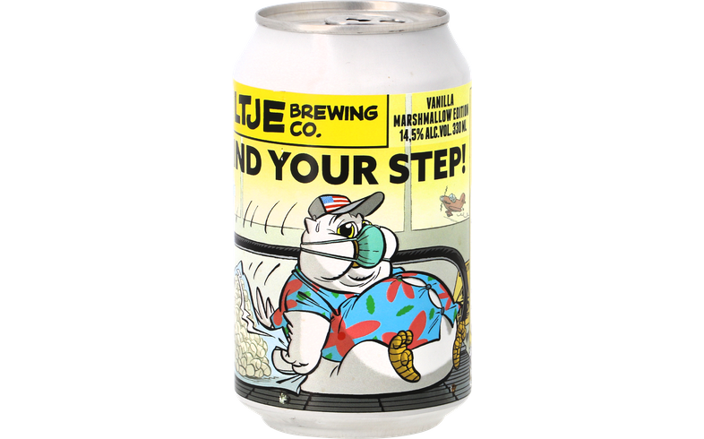 Bouteilles - Uiltje - Mind Your Step Vanilla Marshmallow Edition