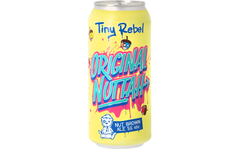 Flessen - Tiny Rebel - Original Nuttah
