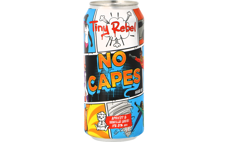 Bouteilles - Tiny Rebel - No Capes Issue 1