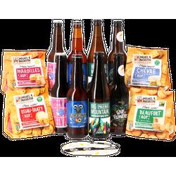 Bierpakketten - HOPT Franse Bierenpakket (8 flessen + zoutjes in 4 smaken)