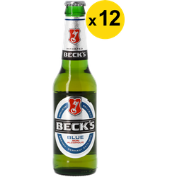 Megapacks - Beck's Blue Non-Alcoholic 33cl (12 stuks)