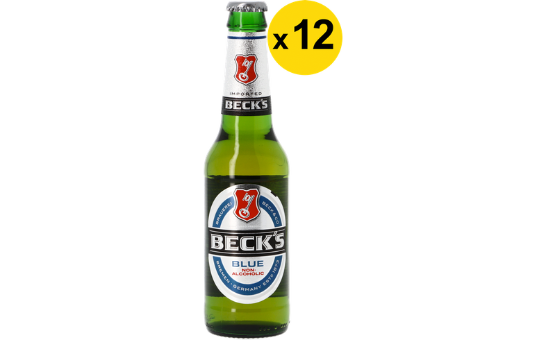 Big packs - Beck's Blue Non-Alcoholic 33cl (12 stuks)