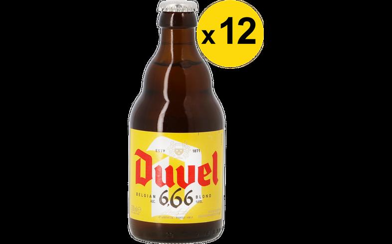 Big packs - Duvel 6.66 33cl (12 stuks)