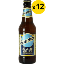 Megapacks - Blue Moon White Ale 33cl (12 stuks)