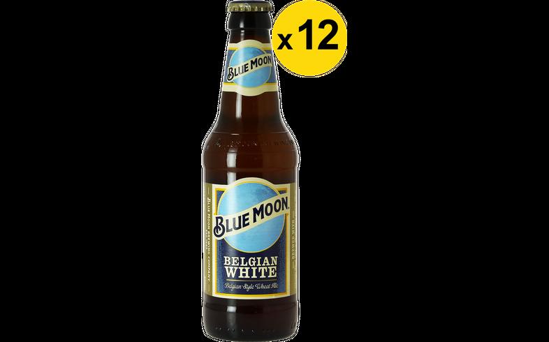 Big packs - Blue Moon White Ale 33cl (12 stuks)