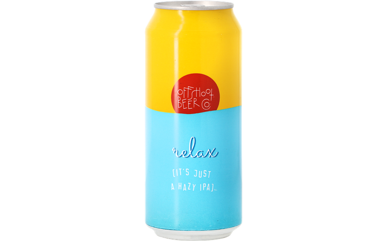 Bottled beer - Offshoot - Relax [it's just a hazy IPA]