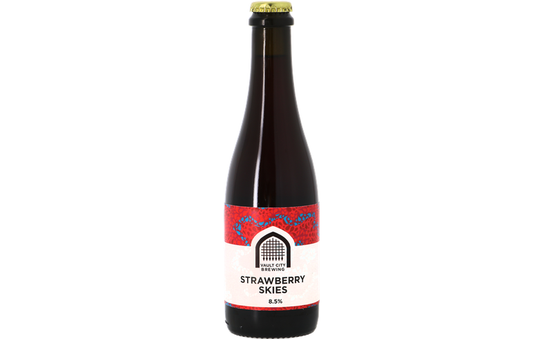 Flaskor - Vault City Brewing - Strawberry Skies