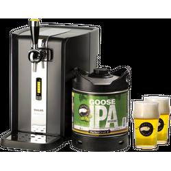 Bierzapfanlagen - Zapfanlage PerfectDraft + Goose Island IPA Fass 6 Liter + 2x 25cl Gläser
