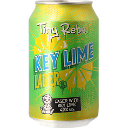 Megapacks - Tiny Rebel Key Lime Lager 33cl (12 stuks)