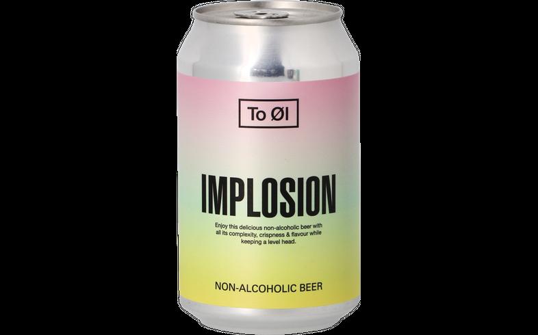 Pack de bières - Pack To Øl  Implosion - Alcohol Free - 12 bières
