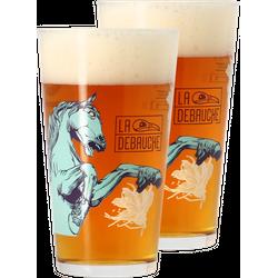 Biergläser - Pack 2x 40cl La Débauche Gläser