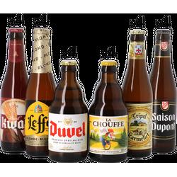 assortiments - Mega pack Bières Belges - 24 bouteilles