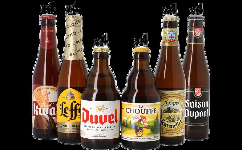 Samlingar - Mega pack Belgian Beers - 24 bottles