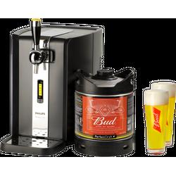 Grifos de cerveza - Pack grifo Perfectdraft Bud + 2 vasos Bud 33 cl gratis