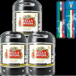 Fusti - Pack Stella Artois PerfectDraft 6L + 1 maxi-magnete GRATUITO - 3-Pack