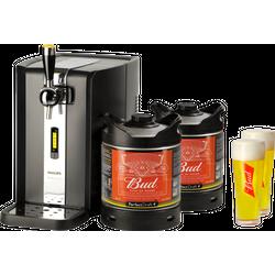 Grifos de cerveza - Pack grifo Perfectdraft Bud x 2 + 2 vasos Bud 33 cl Gratis