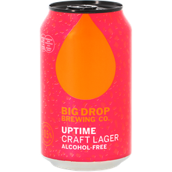 Bouteilles - Big Drop - Uptime Craft Lager