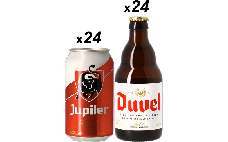 Big packs - Jupiler & Duvel Pakket - 48 Stuks - Gratis Verzending
