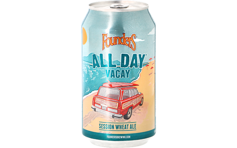 Bottled beer - Founders - All Day Vacay