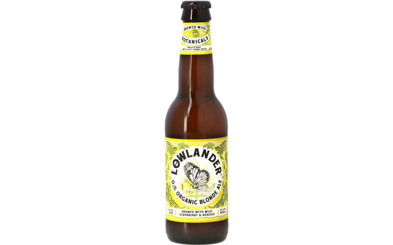 Bottled beer - Lowlander - 0.3% Organic Blonde Ale