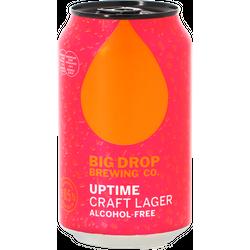 Pack de bières - Pack Big Drop - Uptime Craft Lager - Pack de 12 bières