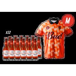 Bierpakketten - Bud 12-pack + 1 T-shirt (M)