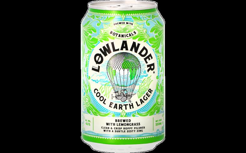 Bouteilles - Pack Lowlander - Cool Earth Lager - Pack de 12 bières