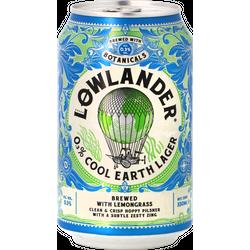 Bouteilles - Pack Lowlander - Cool Earth Lager 0.3% - Pack de 12 bières