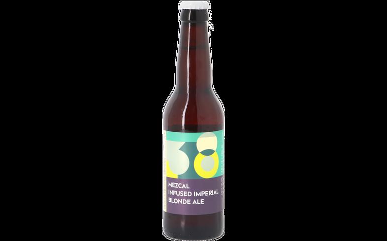 Bottled beer - Sakiškių Alus - Mezcal Infused Imperial Blonde Ale