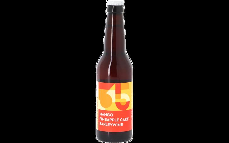Bottled beer - Sakiškių Alus - Mango Pineapple Cake Barleywine