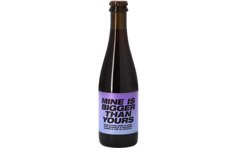 Bouteilles - To Øl - Mine Is Bigger Than Yours Aged In Port & Bourbon Barrels
