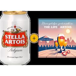 Fûts de bière - Pack 24 Stella Artois can + 1 poster offert