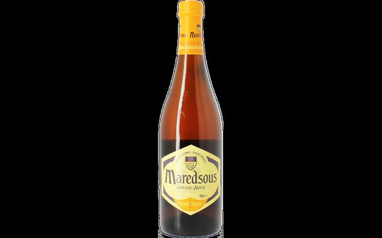 Bottled beer - Maredsous Blonde 75cl