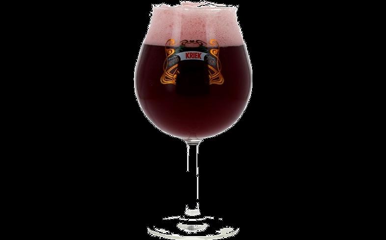 Verres à bière - Verre Lindemans Kriek à pied - 33 cl