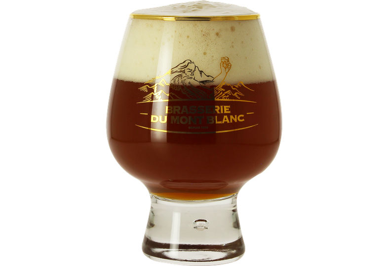 Beer glasses - Brasserie Mont Blanc large balloon glass - 50 cl