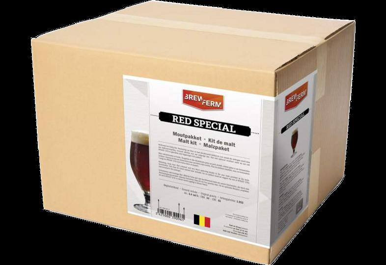 All-Grain Bier Kit - Moutpakket 100% graan Brewferm Red spécial